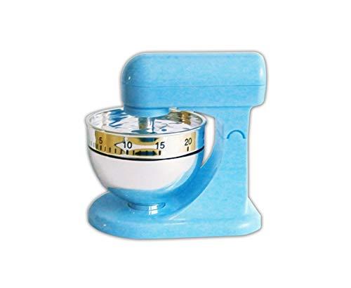 KURZZEITMESSER Mixer Eieruhr bis 60 min. Küchentimer Wecker Küchenuhr Timer Stoppuhr 3 Farben 6 (Blau)