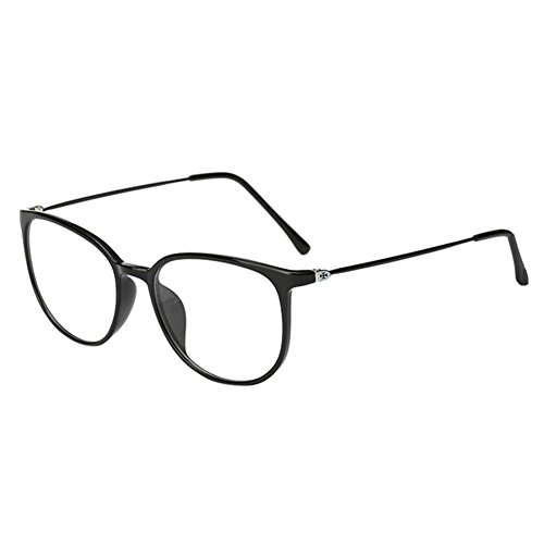 Haodasi Koreanisch Ultraleicht TR90 Kurzsichtigkeit Myopia Brille Kurzsicht Voll Rahmen Kurzsichtig Brille -1.0 -2.0 -3.0 -4.0 -5.0 -5.5 -6.0 Schwarz (Diese sind nicht Lesen Brille)