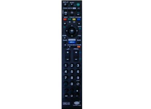 COMPATIBLE SONY LCD/LED REMOTE WORKS WITH ALMOST ALL SONY LED/LCD TV'S