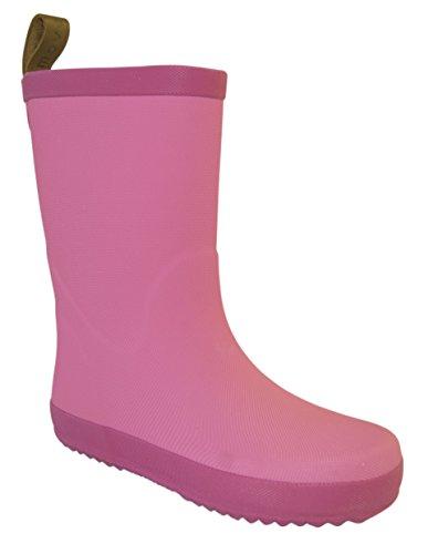 MOVE Wellie, Gummistiefel, Bottes en caoutchouc à tige longue fille Rose - Pink (520/Dusty Pink)