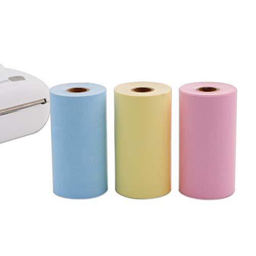 Papel térmico directo 3 colores impresora móvil
