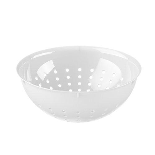 koziol Seihe Palsby M, Kunststoff, weiß, 21 x 21 x 7.8 cm -