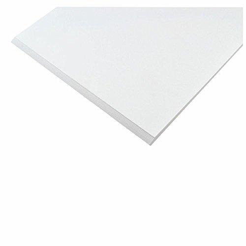 Creleo Tonpapier 130 g, A4 20 Blatt, weiss