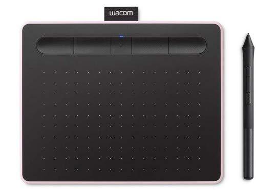 Wacom CTL-4100WL/P0-CX New Intuos Small Bluetooth Pen Tablet (Berry)
