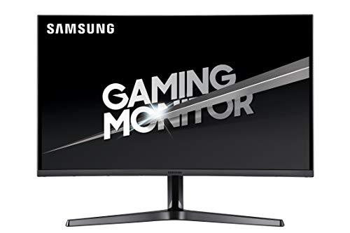 Samsung C27JG52 Monitor Gaming Curvo 27 Pollici WQHD 2K 2560 x 1440 4 ms 169 144 Hz 1440p 1800R 1 Display Port 2 HDMI Base Doppio Snodo Colore Nero