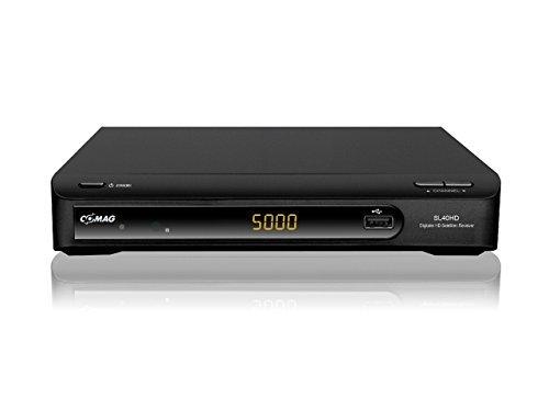 Comag SL40HD HDTV Satelliten Receiver (PVR Ready, USB 2.0 für externe Festplatte oder USB-Stick, Scart, HDMI) schwarz