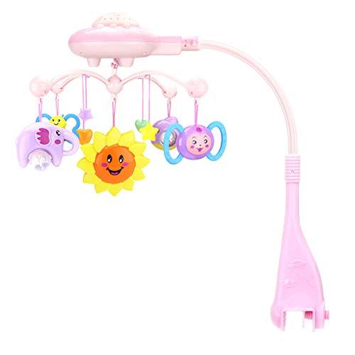 Baby Mobiles für Kinderbetten, Musik-Sterne, Rassel, Glocke, Projektion, Krippe, Spieluhr, Lernspielzeug für Kleinkinder, Kinder