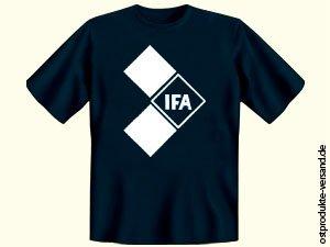 Tshirt IFA dunkelblau | Ossi Produkte | für Ostalgiker | DDR Geschenke