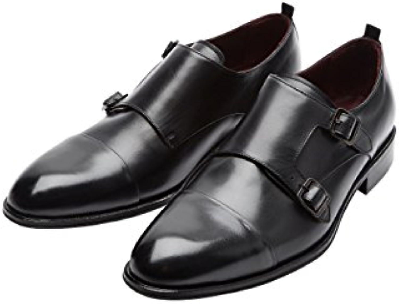 next Herren Signature Monkstrap Schuh mit Zehenkappe