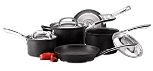 Circulon Infinite Hard Anodised Cookware Set, 5-Piece - Black