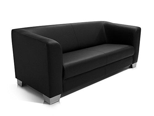 Ledercouch schwarz kaufen  Ledersofa Schwarz gebraucht kaufen! Nur 4 St. bis -70% günstiger