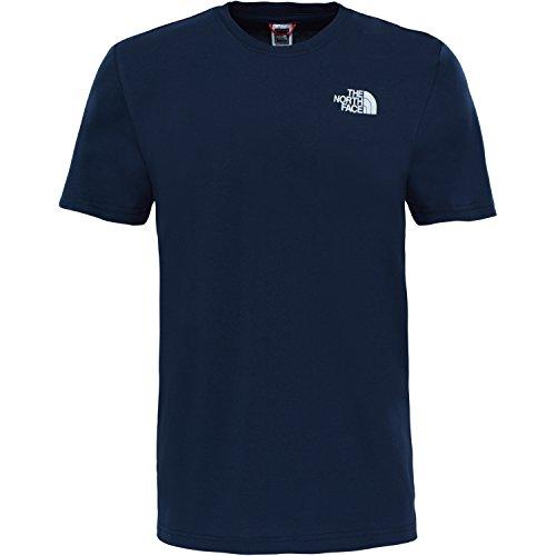 The North Face Herren T-Shirt M S/S Red Box Urban Navy Urban Navy