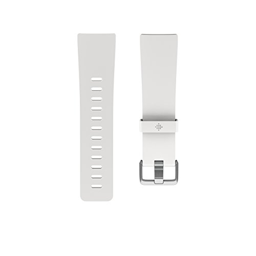 Fitbit Versa Smartwatch Accessory Band, Weiß, S