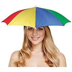 Multi Color 1 Tamaño Umbrella Hat - Festivales - Pesca - vestido de lujo