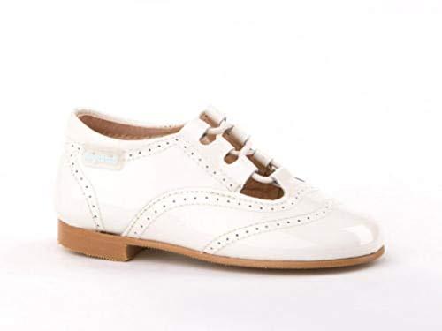 Zapatos Inglesitos Charol para Niños Todo Piel mod.1506. Calzado Infantil Made in Spain,...