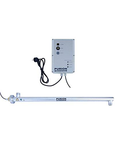 E-coli-bakterien Im Wasser (PURION 2500 UVC-Anlage bis 4.000 l/h Wasseraufbereiter mit UV-C(PURION 2500 90W mit Lebensdauerüberwachung))