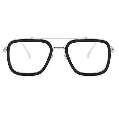 Zouzeog Spider Man Iron Man Sonnenbrille, modisch, für Frauen und Männer, Brille