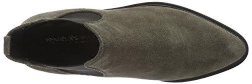 Kennel und Schmenger Schuhmanufaktur Damen Union Chelsea Boots Grau (smoke 646)
