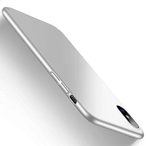 Cover iPhone X, HUMIXX Custodia Ultra Sottile Anti-Graffio e Resistente Alle Impronte Digitali Caso Della Copertura Protettiva in Plastica Difficile [Skin Series]