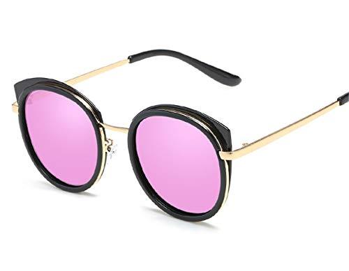 L.Z.HHZL Sonnenbrillen Sonnenbrille für Männer und Frauen Polarisierte Sonnenbrille Cat-Eye Retro Polarized Glasses Mode (Color : Purple)
