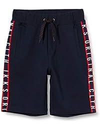 IKKS Junior Bermuda Détente Navy/Rouge Bañador para Niños