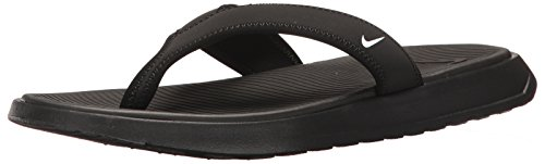 Nike Mens Ultra Celso Thong Black White Synthetic Sandals 44 EU Celso Thong