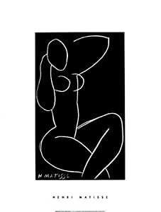Nu Assis, Jambes Croisees Ii, c.1941 42 by Henri Matisse, 61x82