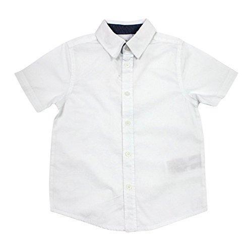 Name it festliches weißes Kurzarm-Hemd für Jungen Nitsolid