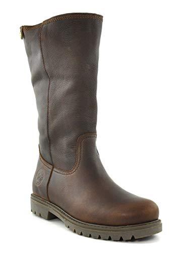 PANAMA JACK Damen Winterstiefel Bambina Igloo,Frauen Winter-Boots,Fellboots,Lammfellstiefel,Fellstiefel,gefüttert,warm,Kastanienbraun,EU ()