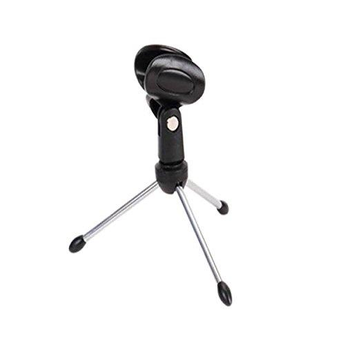 Galleria fotografica MagiDeal Supporto Morsetti Per Microfono Da TavoloRegolabile Con Clip da Microfono