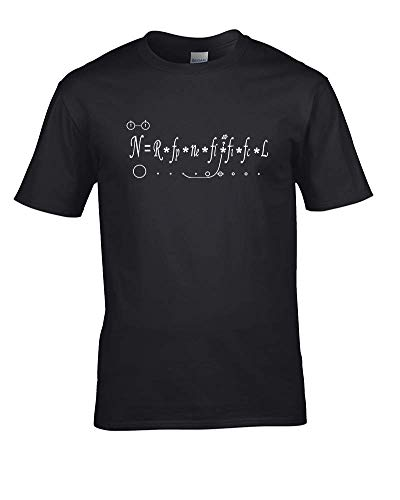 Ice-Tees Drake Equation- How Many Intelligent Civilizations in The Milky Way? Men's T-Shirt