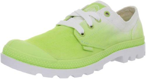 Palladium Schuhe - Sneaker BLANC OX - sharp green fade, Größe:37 (Dip Dye Schuhe)
