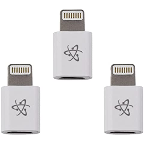 Adaptador Apple Lightning a Micro USB para iPhone 6s, 6, 5, 5s, 5c