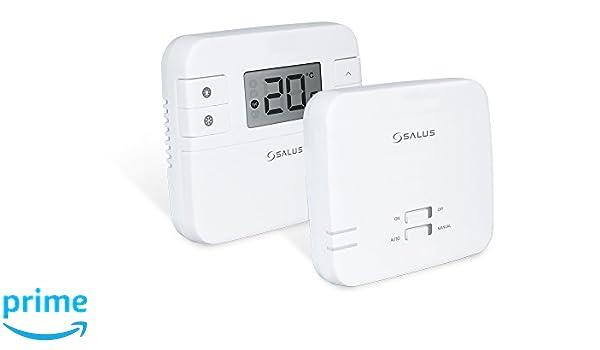 Thermostat programmable connecté sans fil et unité de réception Salus RT310i: Amazon.fr: Bricolage