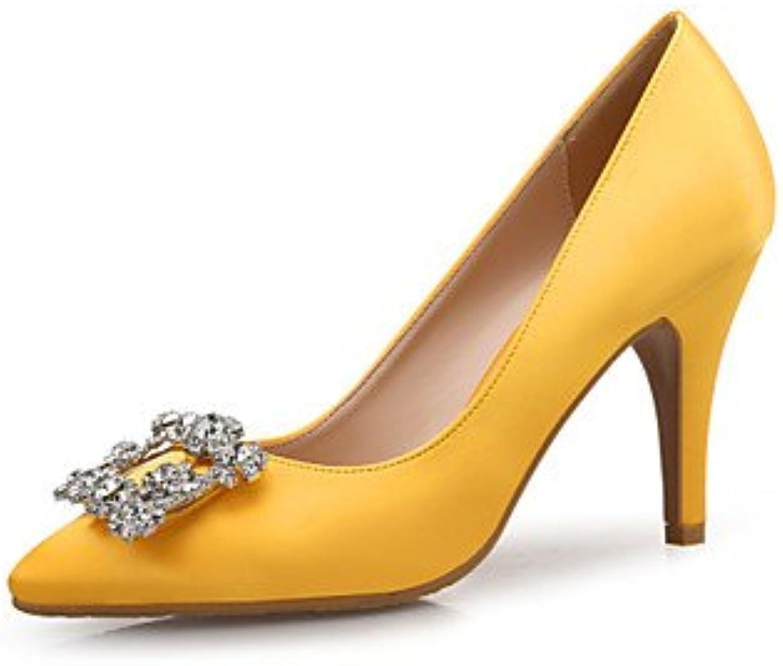 RTRY Tacones Mujer Confort Sparkling Glitter Seda Primavera Otoño Office &Amp; Carrera Parte &Amp; Traje De Noche...