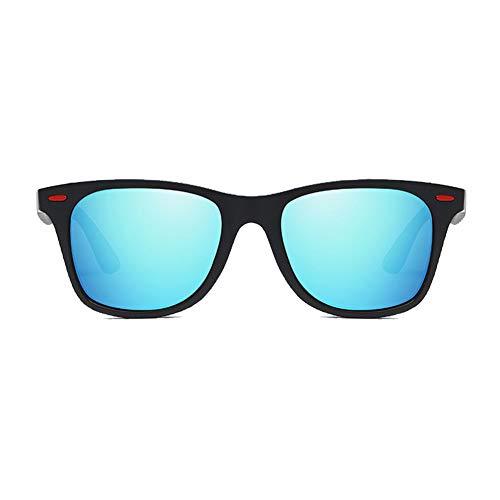 Li Kun Peng Sonnenbrille TR90 Fahrend Tragbar Leicht Zu Waschen Leichter Sonnenschutz UV-Schutz Polarisierte Sonnenbrille,G
