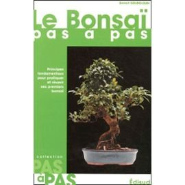 Le bonsaï pas à pas par Benoît Grandjean