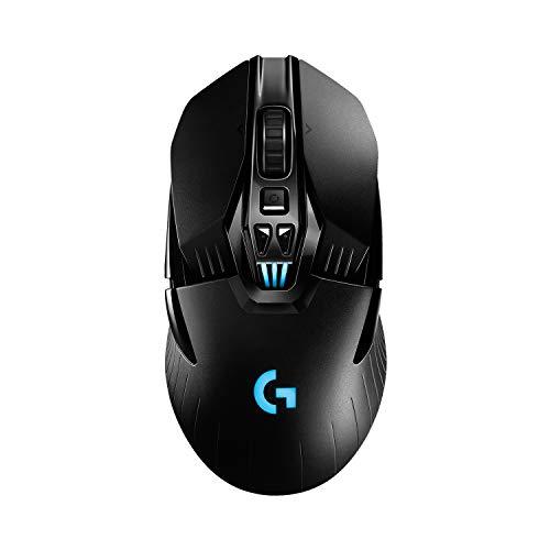 Logitech G903 LIGHTSPEED, mouse gaming wireless con sensore HERO 16K, oltre 140 ore con batteria ricaricabile e LIGHTSYNC RGB. Compatibile con POWERPLAY, Imballaggio per l'Europa occidentale