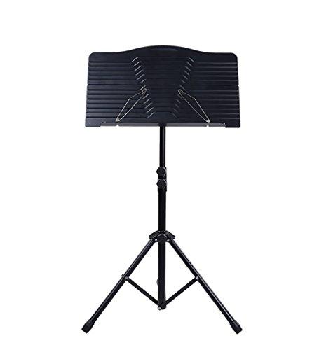 Leggio, orchestra pieghevole professionale portatile e leggero con portamonete e borsa per trasporto adatto per prestazioni strumentali