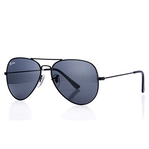 Pro Acme Aviator Crystal Lens Large Metal Sunglasses