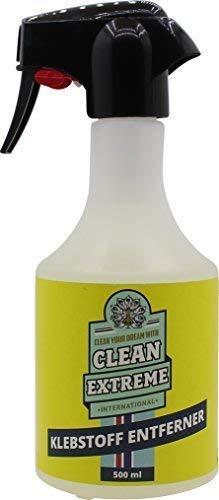 CLEANEXTREME Klebstoffentferner 500 ml - Zum Entfernen von Klebstoff-Resten, Dichtstoff, Silikonöl