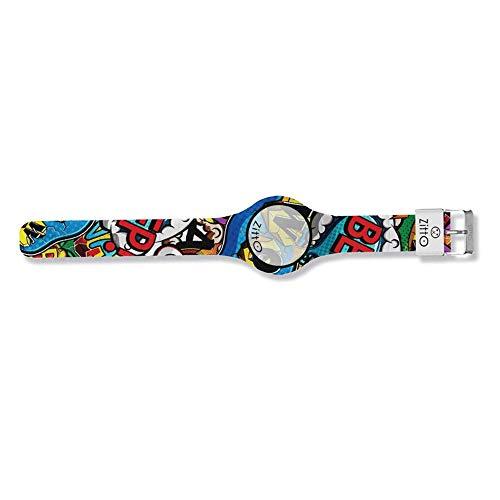 Orologio digitale piccolo ZITTO COMICS in silicone multicolore WARGAME-MF-MINI