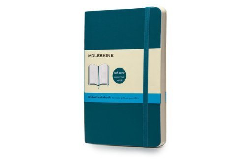 Moleskine Soft Cover Underwater Blue Pocket Dotted Notebook by Moleskine (2014-05-06)