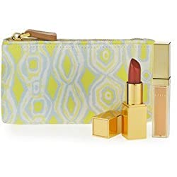 Aerin Beauty Summer Essentials Lip Kit with Rose Balm Lipstick and Lip Gloss