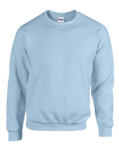 Gildan Schwere blendtm 8Oz, 50/50Crew Fleece XX-Large hellblau Athletic Crew Pullover