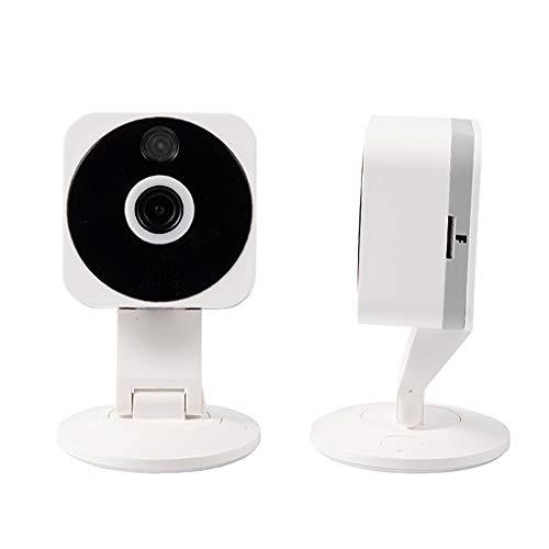 Wokee WiFi IP Kamera Überwachungskamera mit Bewegungserkennung HD 1080P,Haustier Kamera,Kameraüberwachung,Baby Monitor,Nachtsichtfunktion,Unterstützt Fernalarm,Weitwinkel 140 ° Baby Monitor Kit
