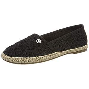 TOM TAILOR für Frauen Schuhe Slipper in Häkel-Optik