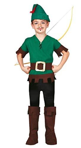 Bogenschütze - Kostüm für Kinder Gr. 110 - 146, Größe:110/116