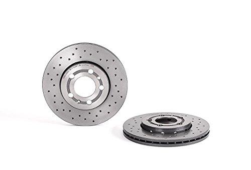 Preisvergleich Produktbild BREMBO 09.7011.1X Bremsscheibe Scheibenbremsen,  Bremsscheiben (x2)
