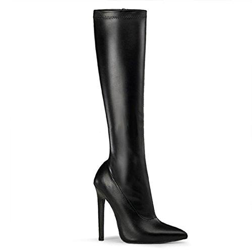 High Heels Stiefel, Damen, Schwarz (schwarz) Schwarz (Schwarz)